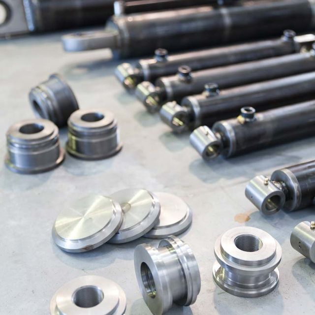 hydraulic cylinders and parts